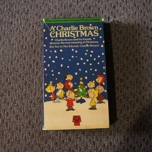 Charlie Brown Double Sided VHS